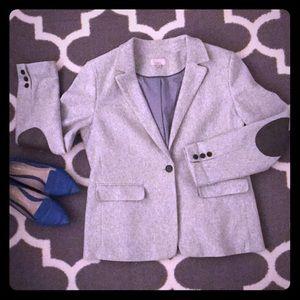 LOFT Stretch Flannel Blazer